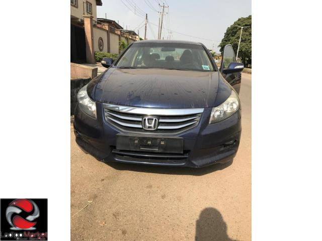 Barely Used Honda Accord 2012 with very low mileage for N1,,450,000 neg